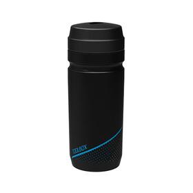 Cube - gourde 600 ml - noir/bleu